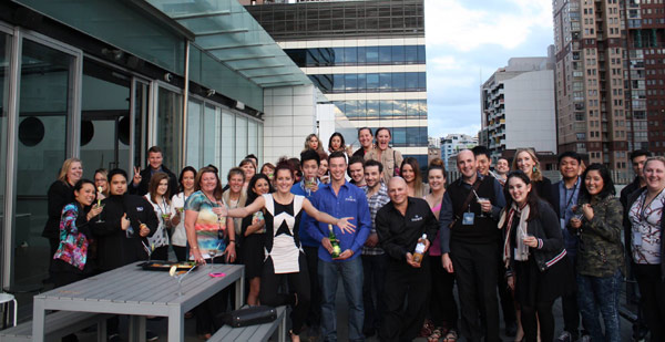 Ricki Lee Performs on the 2 Day FM Rooftop