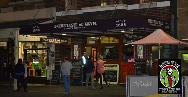 Fortune of War Hotel – The Rocks