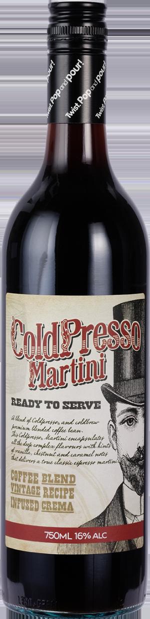 ColdPresso Martini  ready made Espresso Martini
